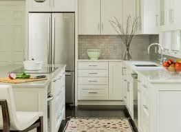 small kitchen design ideas with white hanging kitchen cabinets