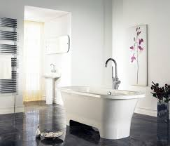 Exotic Modern Bathroom Decoration Ideas With Black White Theme ... Home Ideas Black And White Bathroom Wall Decor Superbpretbhroomiasecccstyleggeousdecorating Teal Gray Design With Trendy Tile Aricherlife Tiles View In Gallery Smart Combination Of Prestigious At Modern Installed And Knowwherecoffee Blog Best 15 Set Royal Club Piece Ceramic Bath Brilliant Innovative On Interior