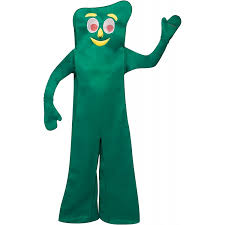 Halloween Jokes For Adults Clean by Amazon Com U0027s Deluxe Gumby Halloween Costume Clothing