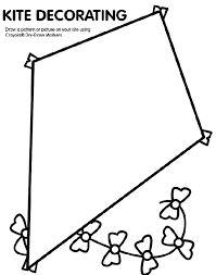 Images Photos Kite Coloring Page