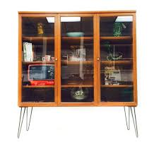 We Call These Danish Robots Mid Century Curio Cabinet From Atomic In Asheville