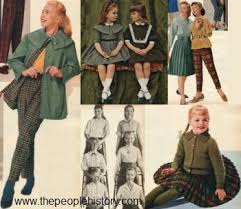 1960s Childrens Fashion Part Of Our Sixties Fashions Section