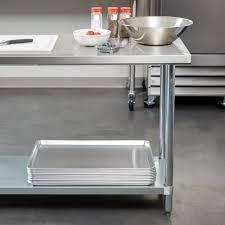 Stainless Steel Utility Sink With Legs by Regency 24
