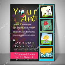 Art Show Flyer Template 24 School Flyers Free Psd Ai Eps Format Download Printable