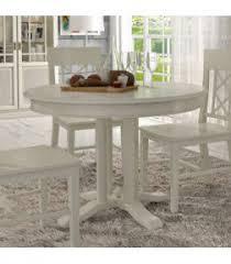 esstisch tisch rund ausziehbar ø 110 cm allegro mit klappeinlage pinie massiv