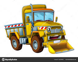 100 Truck With Snow Plow For Sale Cartoon Scene With Cargo Truck Looking And Smiling With Snow