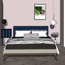 schlafzimmer design mit rosa farbe farbe skp