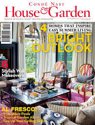Interior Decorating Magazines South Africa by Conde Nast House U0026 Garden November 2015 By Goolspavoes Issuu