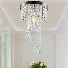 Modern LED Galaxy Spiral Crystal Chandelier Lamp Fixture Lighting Pendant Decor 110V