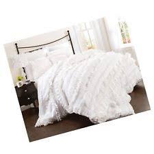 Lush Decor Serena Bedskirt by Lush Décor Patternless Polyester Comforters U0026 Bedding Sets Ebay