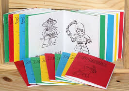 Cute Mini Lego Coloring Book Party Favors Free Download Of All The Pages And Cover