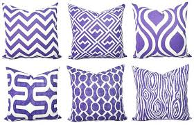 Lovely Purple Decorative Pillows Purple Decorative Pillow Cushion