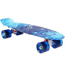 Blue Galaxy Penny Board 22