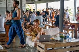 100 Word Of Mouth Bali Crate Cafe In A Restaurant Designed To Attract Instagram Users