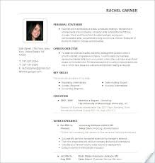 Best Resume Formats 2016 Great Resumes Templates Excellent Latest Template Perfect Good