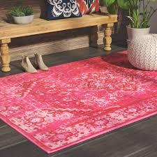 Decker Pink Area Rug & Reviews