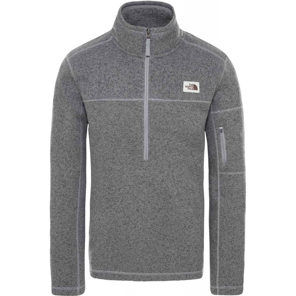 The North Face Men's Gordon Lyons 1/4 Zip TNF Medium Grey Heather / XL