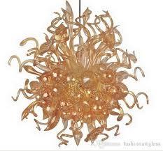 großhandel chihuly stil italienische deckenleuchte wohnzimmer dekor murano glaskristall dekorative led hang custom style fashionartglass 585 7