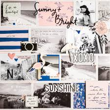 Cute Beach Theme Scrapbook Idea » Maggie Holmes Design