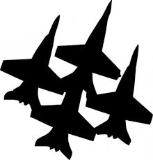 Fighter Jet Plane Clip Art Free Vector