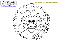 Star Wars Angry Birds Coloring Pages Brody 5th Bday Pinterest
