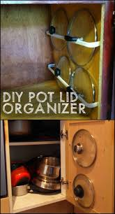 how to store all the pot and pan lids in your kitchen kitchen