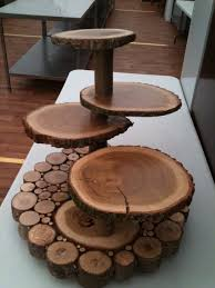 Wooden Cake Stand Made From A Fallen Tree In Southampton Common UK Thanks To