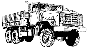 Drawn Truck Army Truck Drawn Truck Army Pencil And In Color On ...