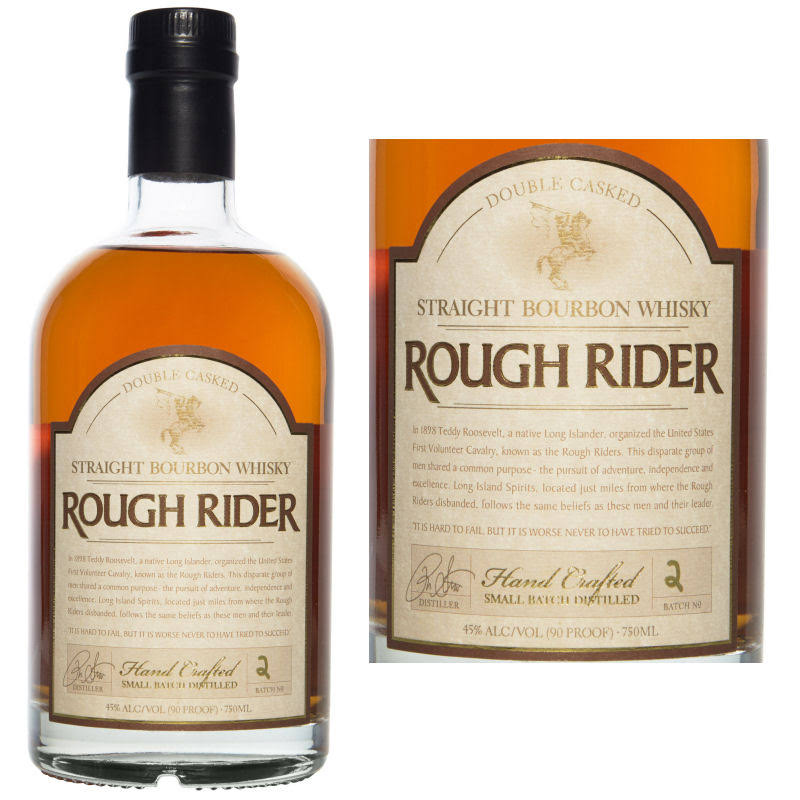 Rough Rider Three Barrel Rye - American Whiskey, 750ml