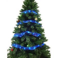36 LED Blue Ribbon Lights