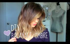 DIY Balayage or Ombre at Home