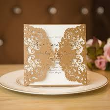 Rustic Elegance Laser Cut Wedding Invitation Cards With Burlap Band SWWS012