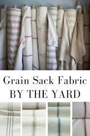 Curtain Fabric By The Yard by Best 20 Farmhouse Upholstery Fabric Ideas On Pinterest Rustic