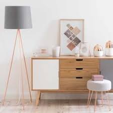 Lampadaire Trpied En Mtal H 148 Bedroom Ideas Rose GoldRose