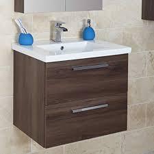 vasari 600 mm wand badezimmer moderner schminktisch und