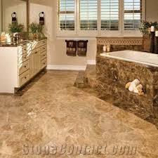 bath design polished marble flooring emperador brown