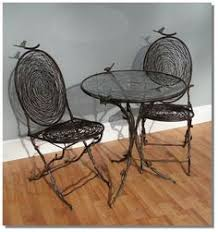 Ebay Chairs And Tables by Antique Wrought Cast Iron White Garden Chair Bench Grape Leaf