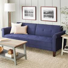 10 spring street ashton microfiber sofa bed walmart com
