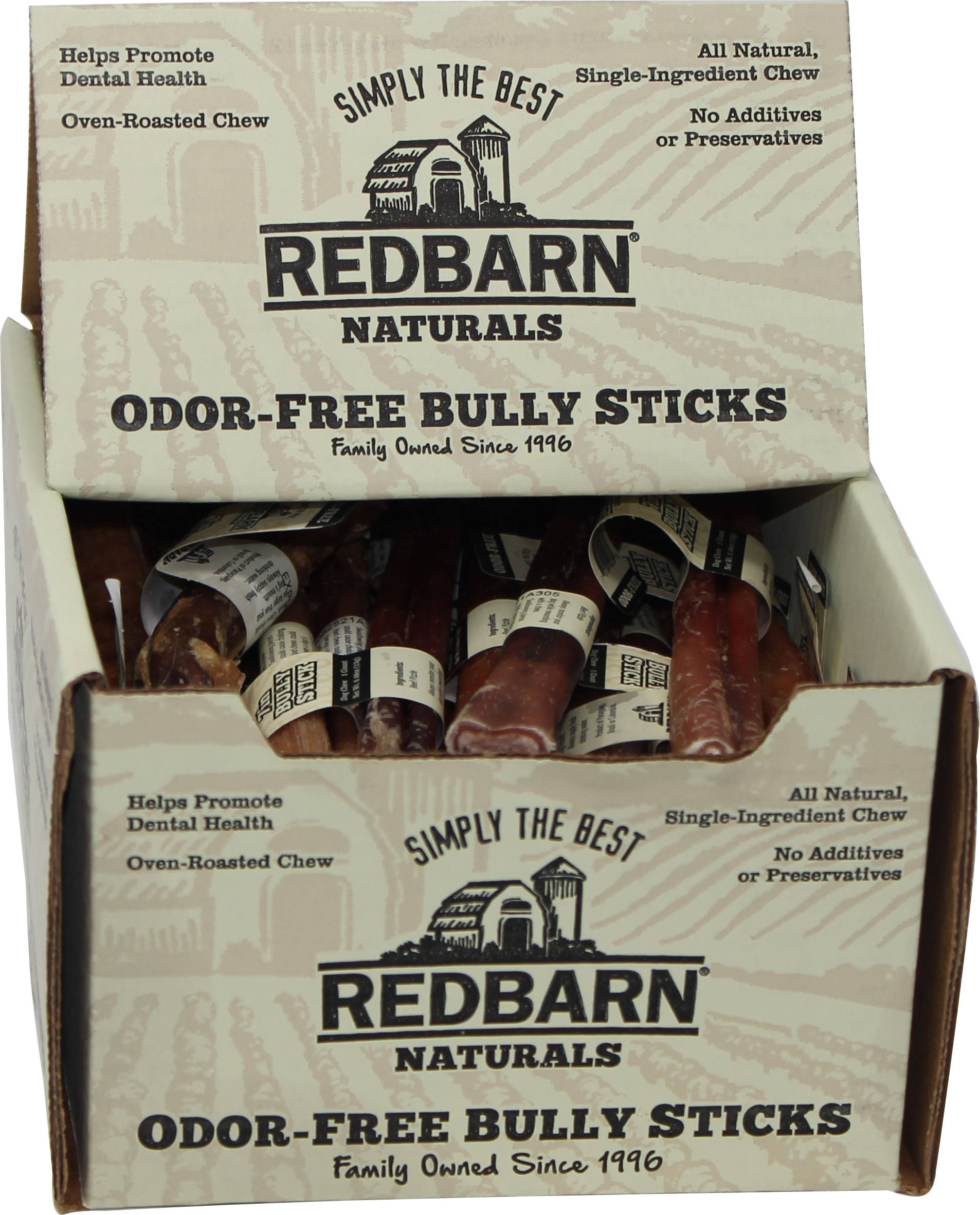 Redbarn - Odor Free Bully Stick - 7 inch