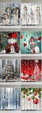 Christmas Red Bathroom Rugs by Best 25 Christmas Shower Curtains Ideas On Pinterest Christmas