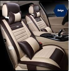 housse de siège de voiture en cuir pour audi a3 a4 b6 b8 a6 a5 q7