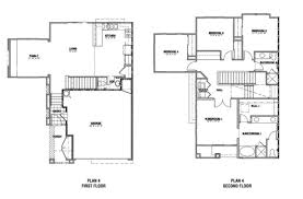 The Two Story Bedroom House Plans by Project Ideas 1 Four Bedroom House Plans Two Story 2 Plans 4