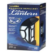 thermacell mosquito repellent patio lantern 12 hrs