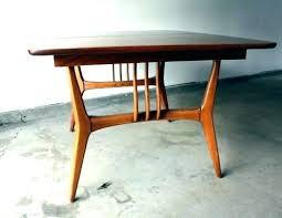 Danish Modern Dining Room Chairs Mid Century Table