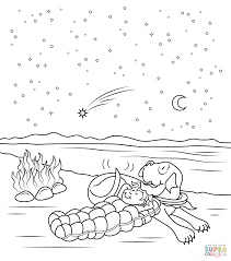 Click The Henry And Mudge Starry Night Coloring Pages