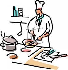 Chef Preparing Food In A Kitchen