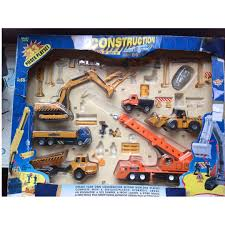 Collectible Vintage Construction Toy Set 33 Peices Including ... Best Choice Products Set Of 4 Push And Go Friction Powered Car Toys Remote Control Truck Rc Trucks Bulldozer Charging Rtr Dump Colctible Vintage Cstruction Toy 33 Peices Cluding Amazoncom Dickie 24 Light Sound Crane 12 X Cstruction Toys Trucks Crane Lorries Diggers Children Take Apart Tool Set Kids For Boley 2piece 18 Vehicles Cat Philippines Games Colctibles Figurines Sale Equipment Excavators Loaders Boley 5in1 Big Rig Hauler Carrier Complete Trailer With Tonka Classic Steel Mighty Backhoe Wwwkotulas Gimilife Play 6