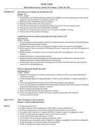 Hr Recruiter Resume Format In Word Download Template Amazing ...
