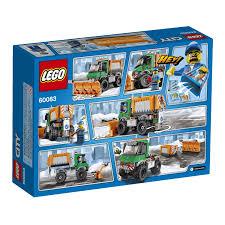 100 Lego City Tanker Truck 60083 Snowplow Elevenia