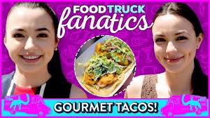 100 Taco Truck Challenge GOURMET TACO CHALLENGE Food Fanatics W Merrell Twins YouTube
